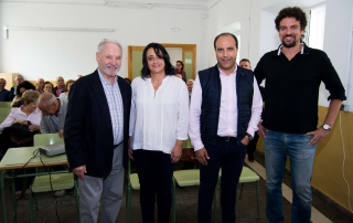 Juan Francisco García, Ángeles Valladares, Nazario Montes, Oscar Barroso