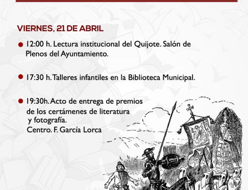 II Semana Cultural Villa de Otura, actividades del viernes 21 de abril
