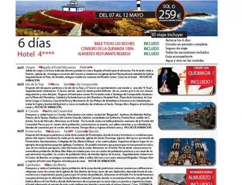 Viaje a Galicia para nuestros mayores