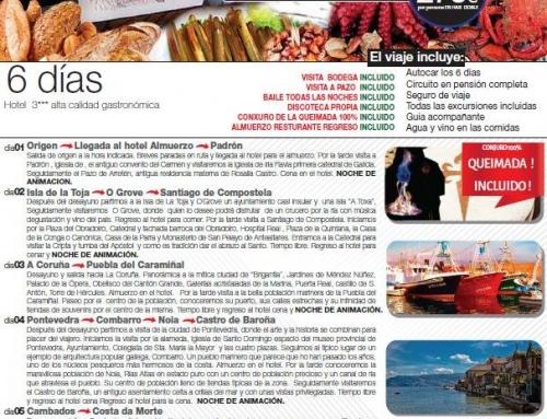 Viaje a Galicia del 19 al 24 de junio