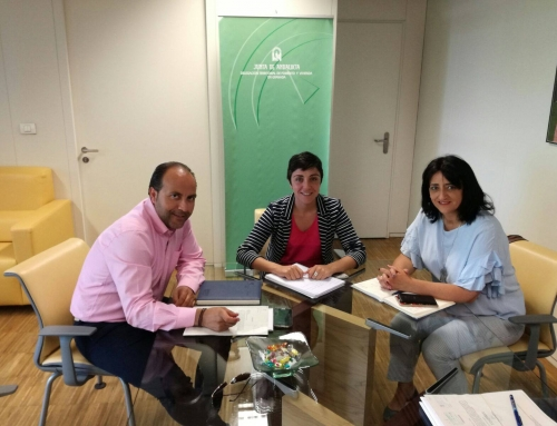 Reunión entre el Alcalde de Otura y la Delegada Territorial de Fomento y Vivienda en Granada