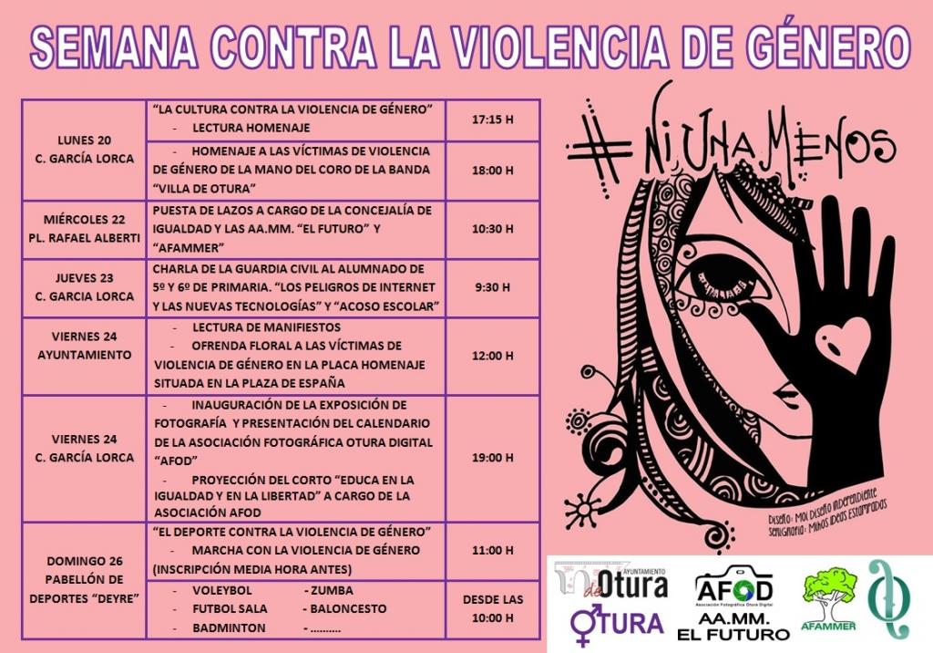 Semana contra la violencia de género