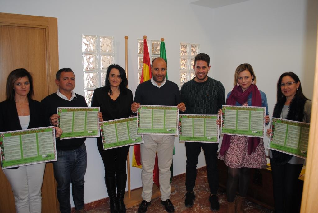 El equipo de Gobierno presenta el programa de Navidad