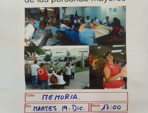 El Centro de Participación Activa organiza talleres de memoria y primeros auxilios