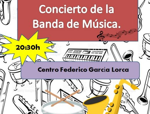 La Banda de Música ofrece mañana un concierto en el Centro García Lorca