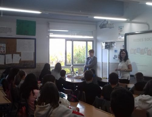 "Taller ""Conéctate Segur@"" para los alumn@s del IES ""Escultor Sánchez Mesa"""