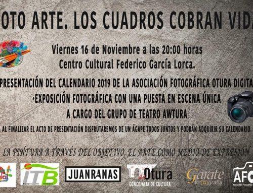 FOTO ARTE: LOS CUADROS COBRAN VIDA