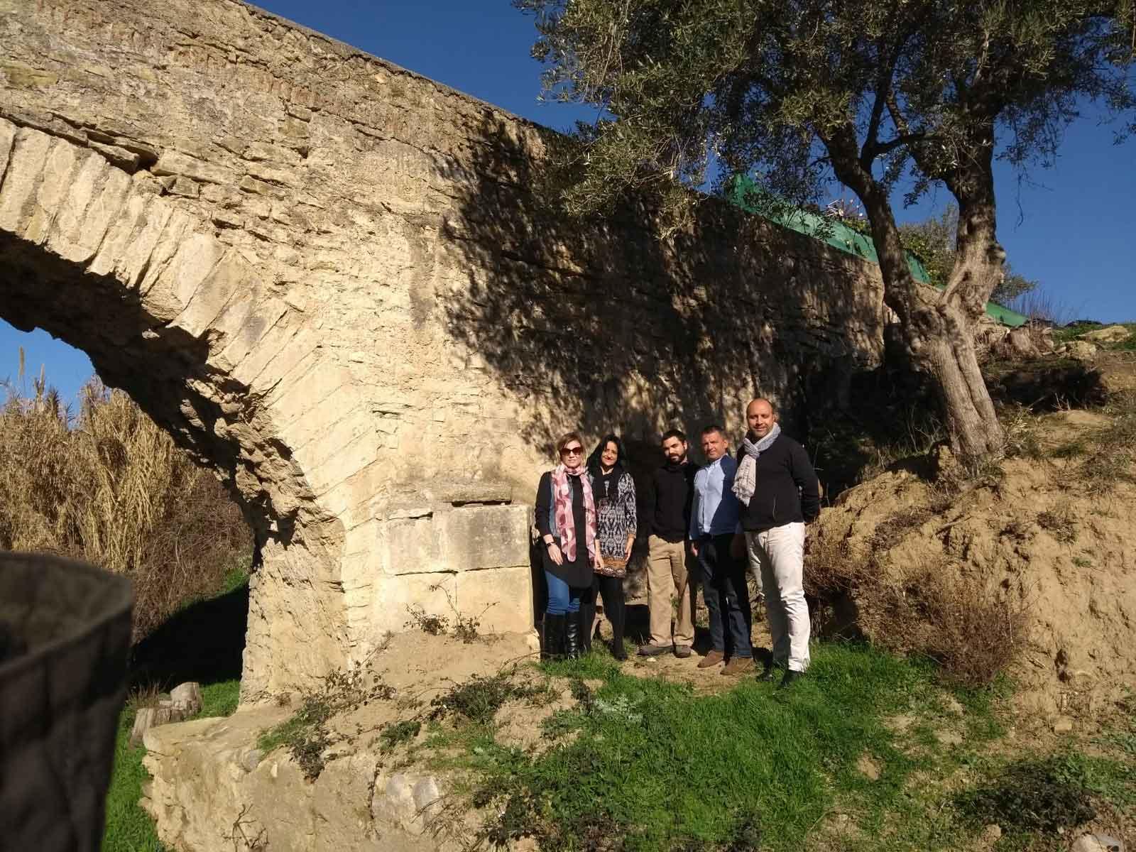 El Ayuntamiento trabaja ya en potenciar su patrimonio con la recuperación del Acueducto y la Acequia