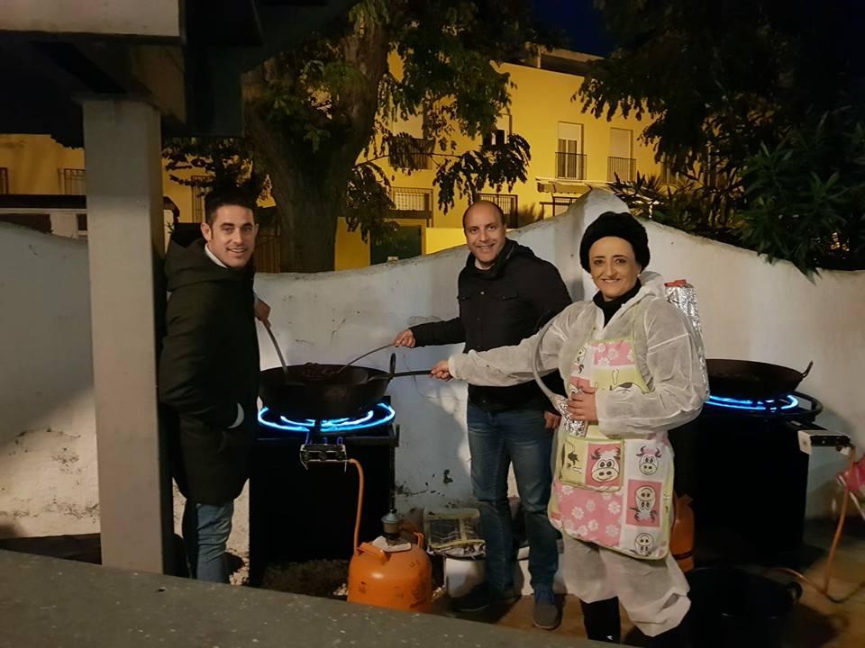 Fiesta de las castañas y de Halloween organizada por la Concejalía de Fiestas del Ayuntamiento de Otura